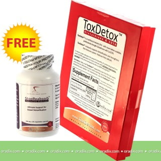 ToxDetox suppository
