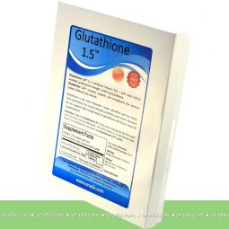 Glutathione 1.5 (1,500mg reduced glutathione) strongest ever anywhere