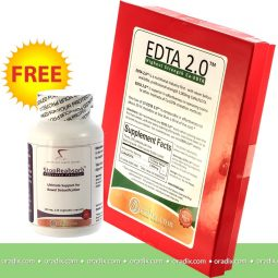 EDTA 2.0 (2000mg EDTA) with a free StopReabsorb bowel cleanse included