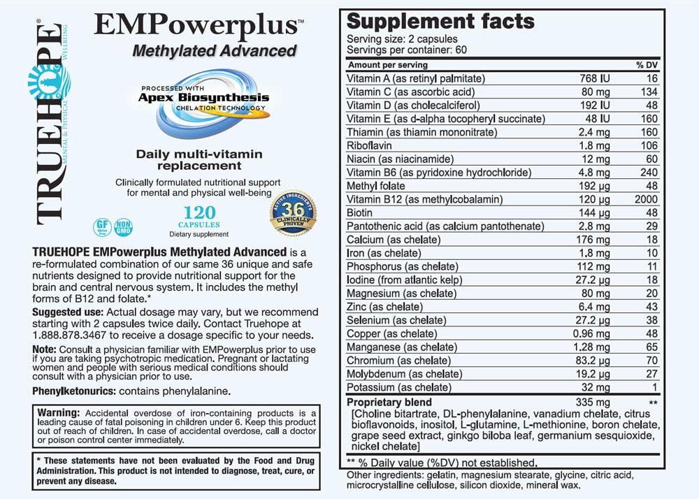 EMPowerplus Methylated Advanced - the