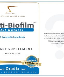 Anti-Biofilm - natural, anti-viral, anti-bacterial, anti-parasitic, anti-fungal