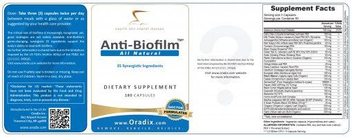 Anti-Biofilm - natural, anti-viral, anti-bacterial, anti-parasitic, anti-fungal