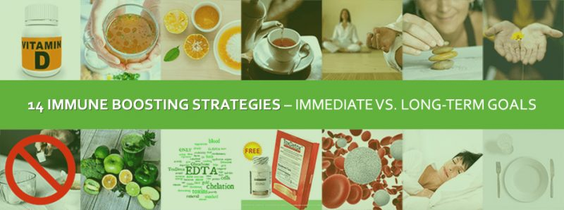 14 Immune Boosting Strategies – Immediate vs. Long-Term Goals