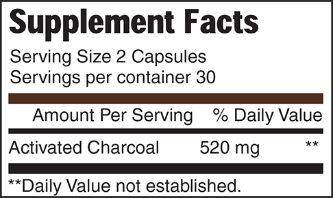 Quantity per Box: 520 mg, 60 vegetable capsules